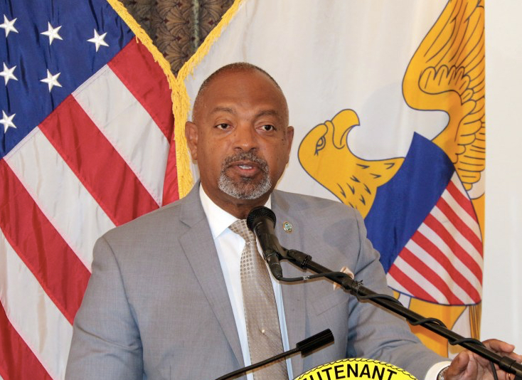 Lieutenant Governor Tregenza Roach. (File photo)
